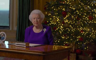 Inglise kuninganna jõululäkitus